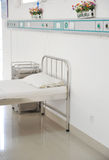 Hospital bed Stock Photo