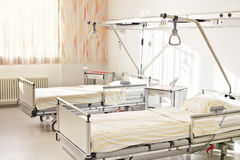 Hospital bed double room Royalty Free Stock Photos