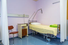 Hospital bed. Stock Photos