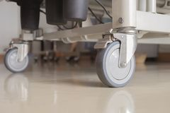 Hospital Bed Wheels royalty free stock photography