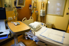 Hospital bedroom Stock Image