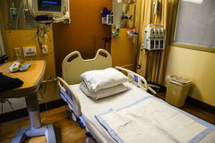 Hospital bedroom Stock Images