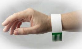 Hospital Bracelet Band Stock Photo