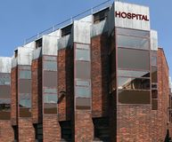 Hospital building Stock Images