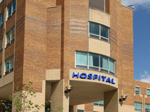 Hospital building Stock Photography