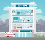 Hospital building Royalty Free Stock Photo