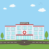 Hospital Building Healthcare Concept Stock Photography