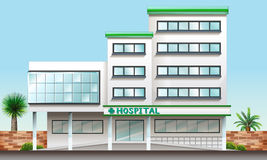 A hospital building Royalty Free Stock Photos