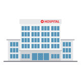 Hospital building, medical icon. Royalty Free Stock Photography