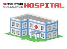 Hospital building vector illustration Stock Photography