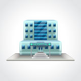 Hospital building  vector illustration Stock Images