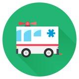 Hospital car Icon Royalty Free Stock Photography