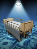 Hospital Care Costs stock illustration