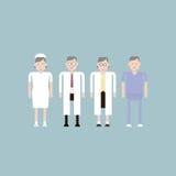 Hospital character Royalty Free Stock Image
