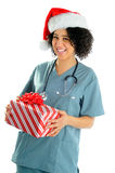 Hospital Christmas Stock Image