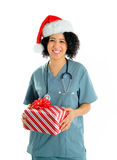 Hospital Christmas Royalty Free Stock Photography