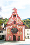 Hospital Church of the Holy Spirit in Fussen Stock Images