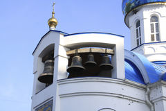 Hospital church in Krasnodar Royalty Free Stock Images
