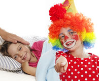 Hospital clown Royalty Free Stock Image