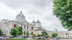 The Hospital Coltea. The first hospital from Bucha Royalty Free Stock Photography