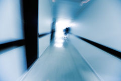 A hospital corridor Royalty Free Stock Images