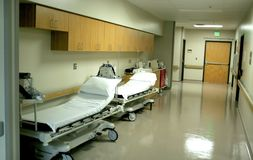 Hospital Corridor Stock Photography