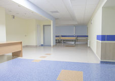 Hospital corridor Royalty Free Stock Photography