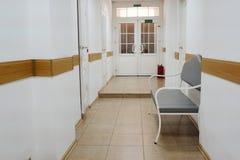 Hospital corridor Stock Photography