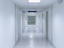 Hospital corridor Stock Images