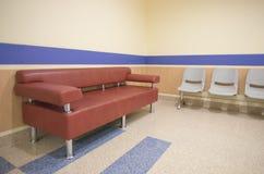 Hospital corridor Royalty Free Stock Photo