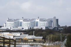 Hospital da rainha Elizabeth em Birmingham imagens de stock