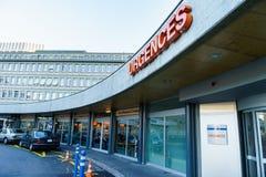 Hospital da universidade de Genebra Fotos de Stock Royalty Free