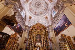 Hospital de la caridad church, Seville, spain Stock Image