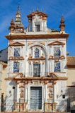 Hospital de la Caridad - Seville. The facade of Hospital de la Caridad, a hospice founded in 1674 for the poor and elderly - Seville, Andalusia, Spain Stock Image