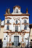 Hospital de la Caridad, Seville, Spain. Front facade of Charity Hospital (Hospital de la Caridad), Seville, Seville Province, Andalusia, Spain, Western Europe Royalty Free Stock Photos