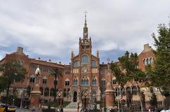 Hospital de la Sankt Creu I Sant Pau stockfotos