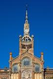 Hospital de la Santa Creu in Barcelona Royalty Free Stock Images