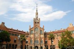 Hospital de la Santa Creu, Barcelona, Spain Royalty Free Stock Photography