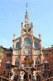 Hospital de la Santa Creu i de Sant Pau Royalty Free Stock Photography