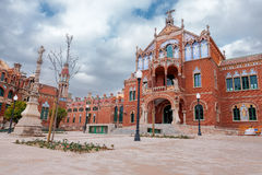 Hospital de la Santa Creu i de Sant Royalty Free Stock Photography