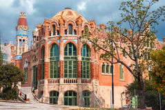 Hospital de la Santa Creu i de Sant Pau Stock Photos