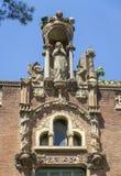Hospital de la Santa Creu i de Sant Pau Royalty Free Stock Photos