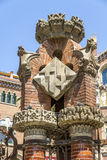 Hospital de la Santa Creu i de Sant Pau Royalty Free Stock Image