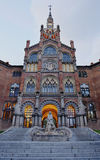 Hospital de la Santa Creu i Sant Pau Stock Images