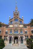 Hospital de la Santa Creu i Sant Pau, Barcelona. Spain Royalty Free Stock Photography