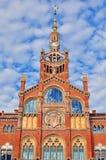 Hospital de la Santa Creu i Sant Pau, Barcelona Royalty Free Stock Image