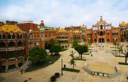Hospital de la Santa Creu i Sant Pau in Barcelona Royalty Free Stock Images