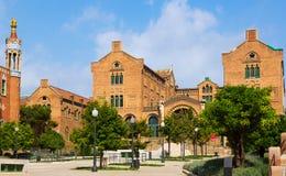 Hospital de la Santa Creu i Sant Pau in Barcelona Stock Images