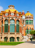Hospital de la Santa Creu i Sant Pau in Barcelona Stock Photos