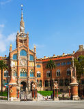 Hospital de la Santa Creu i Sant Pau in Barcelona Stock Images